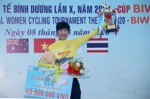 Kết thúc Giải xe đạp nữ quốc tế Bình Dương lần thứ X - 2020 Cúp Biwase