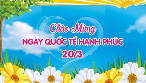 Nâng cao nhận thức về Ngày Quốc tế Hạnh phúc 20-3