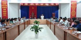 Phú Tân chuẩn bị các phương án cách ly y tế tập trung