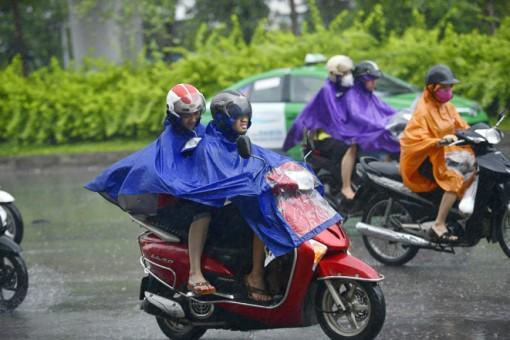 Thời tiết ngày 24-3: Bắc Bộ và Bắc Trung Bộ mưa rào và dông, vùng núi có nơi thời tiết nguy hiểm