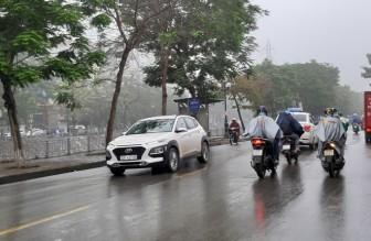Thời tiết ngày 27-3: Không khí lạnh gây mưa dông ở Bắc Bộ, Bắc Trung Bộ