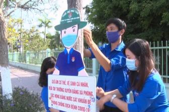 Huyện đoàn Phú Tân tuyên truyền phòng, chống dịch bệnh Covid-19 bằng hình mẫu chibi