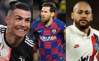 10 cầu thủ có thu nhập cao nhất thế giới: Messi không có đối thủ