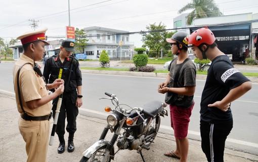 Tăng cường phòng, chống ùn tắc giao thông và đua xe trái phép