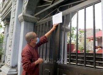 Giáo hội Phật giáo Việt Nam yêu cầu tăng ni cấm túc tại chùa, cơ sở tự viện đến hết 15-4