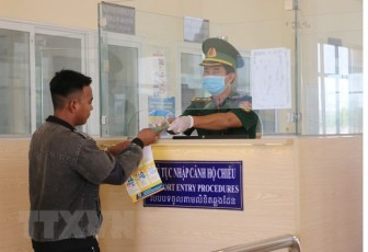 Điều chỉnh việc qua lại tại các cửa khẩu biên giới với Campuchia, Lào