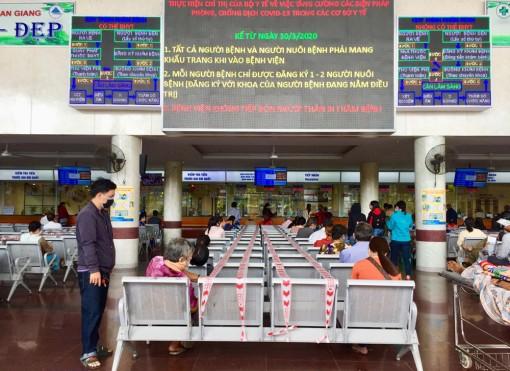 Bệnh viện Đa khoa trung tâm An Giang trang bị 50 máy rửa tay tự động