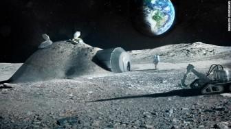 Căn cứ trên Mặt Trăng sẽ được xây bằng nước tiểu của phi hành gia?