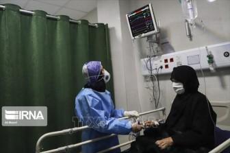 Dịch COVID-19: Số ca tử vong tại Iran tăng thêm 124 người trong 24 giờ qua