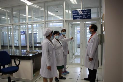 Bệnh viện Đa khoa trung tâm An Giang hoàn thành phòng xét nghiệm Covid-19
