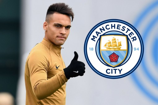 "Man City vung tiền nổ ""bom tấn"" Lautaro Martinez"