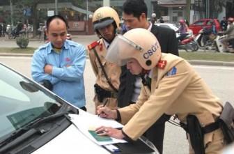 Tăng cường xử phạt vi phạm giao thông trong thời điểm cách ly toàn xã hội