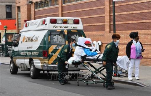 Lần đầu tiên số ca tử vong do COVID-19 tại New York giảm