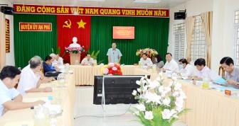 An Phú tập trung công tác chuẩn bị Đại hội Đảng các cấp