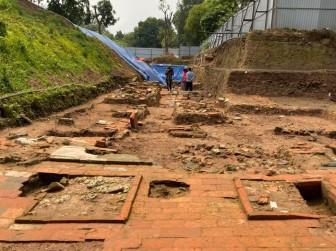 """Phát hiện dấu tích """"vườn thượng uyển"""" tại Hoàng Thành Thăng Long"""