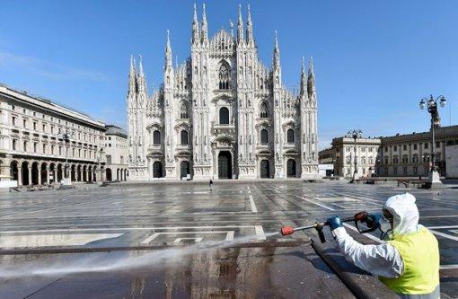 Ca nhiễm mới giảm mạnh, Italy hy vọng dịch thuyên giảm nhờ phong tỏa