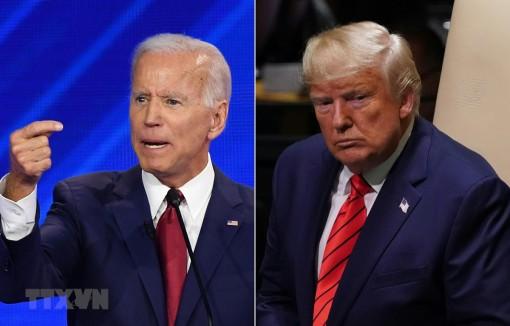 Ứng cử viên Joe Biden vượt qua Tổng thống Trump tại bang Florida