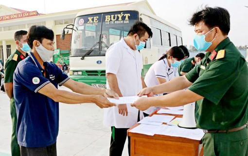 154 công dân hoàn thành cách ly tập trung tại huyện Châu Thành