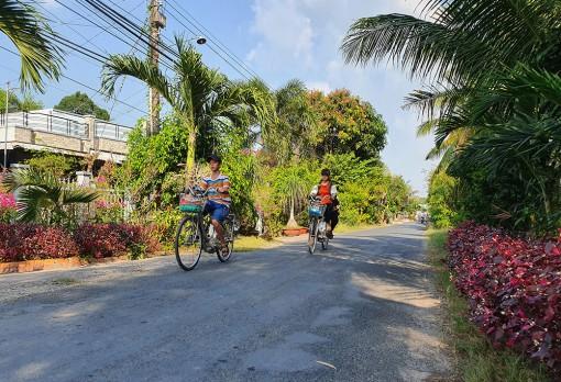 Châu Thành nỗ lực xây dựng nông thôn mới nâng cao