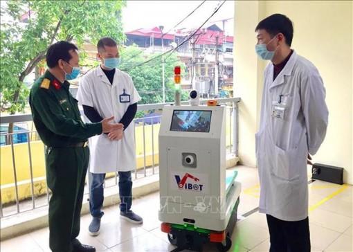 Robot do Bộ KH&CN đặt hàng đã ra đời để hỗ trợ điều trị COVID-19