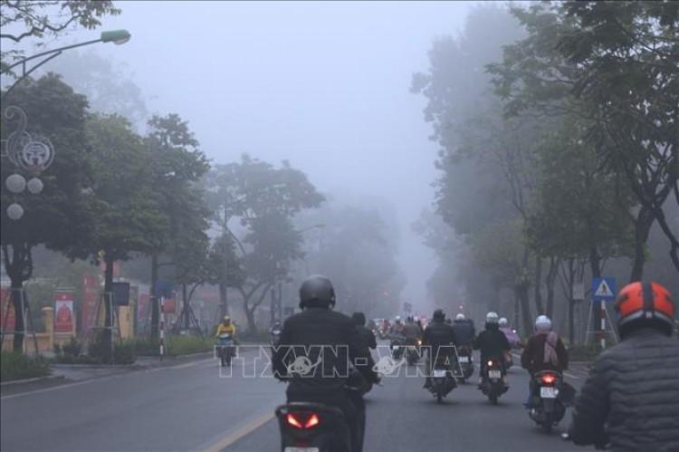 Thời tiết ngày 8-4: Bắc Bộ trời rét, Tây Nguyên và Nam Bộ cục bộ có mưa vừa, mưa to