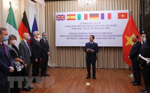 Truyền thông Đức đánh giá cao Việt Nam hỗ trợ châu Âu chống dịch