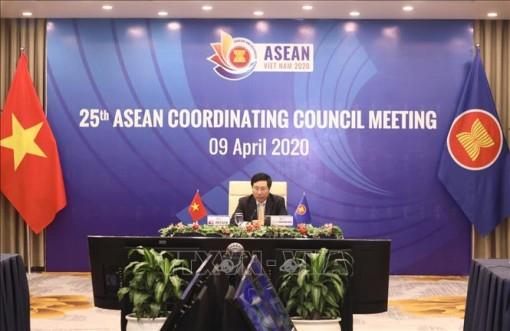 Hội nghị trực tuyến Hội đồng điều phối ASEAN lần thứ 25