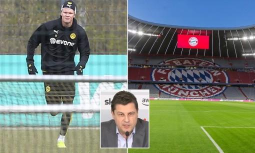 Bundesliga trở lại vào đầu tháng 5, đá không khán giả đến hết năm 2020
