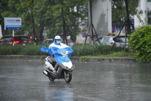 Không khí lạnh gây mưa rào và dông ở Bắc Bộ, Bắc Trung Bộ