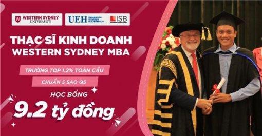 Đại học Kinh tế TP. HCM tuyển sinh thạc sĩ kinh doanh MBA chuẩn quốc tế, với học bổng hơn 9 tỷ