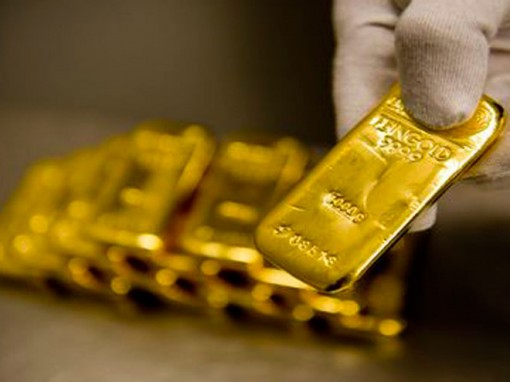 Giá vàng ngày 26-4: trong nước thấp hơn thế giới 700.000 đồng