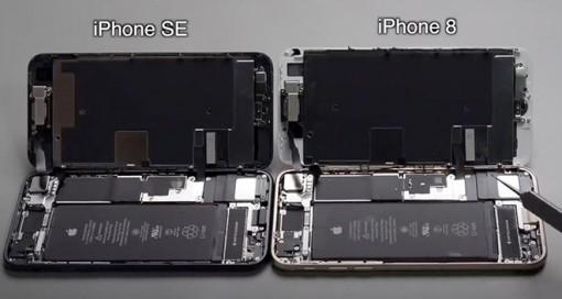 iPhone SE 2020 hoạt động với camera iPhone 8