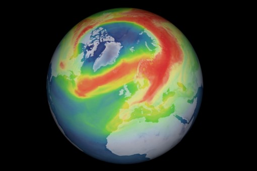 Lỗ thủng ozone lớn nhất Bắc Cực đã được vá
