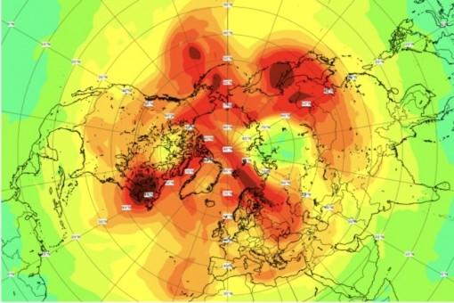 Lỗ thủng tầng ozone lớn nhất từ trước đến nay ở Bắc Cực đã thu hẹp lại