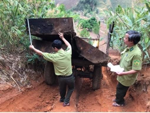 Kon Tum quyết liệt truy quét các điểm nóng phá rừng