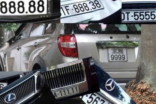 Bộ Công an đề xuất người dân được chọn biển số xe