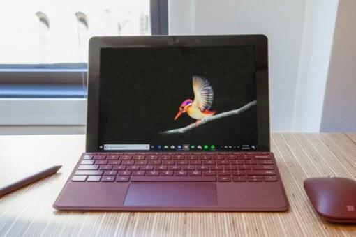Mẫu máy Surface Go 2 bất ngờ lộ diện