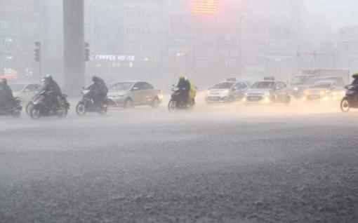 Thời tiết ngày 11-5: Mưa dông diện rộng ở Bắc Bộ và Bắc Trung Bộ