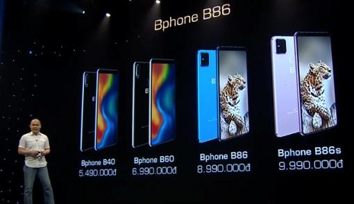 """Bphone B86 chính thức ra mắt với mức giá """"không tưởng"""""""