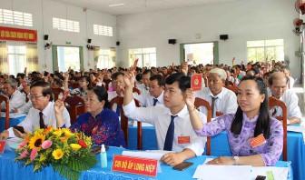 Đại hội Đảng bộ xã Long An lần thứ XI (nhiệm kỳ 2020 – 2025)