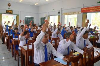 Đại hội Chi bộ Phòng Nông nghiệp và Phát triển Nông thôn huyện Tịnh Biên (nhiệm kỳ 2020-2025) thành công tốt đẹp