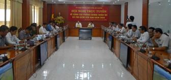 Hội nghị trực tuyến toàn quốc về công tác phòng, chống thiên tai và tìm kiếm cứu nạn năm 2020