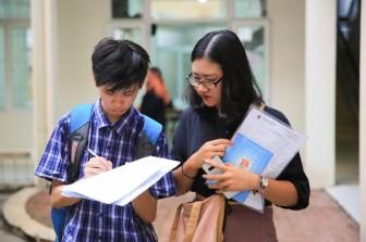 Nhiều đại học phía Nam điều chỉnh chỉ tiêu tuyển sinh từ kết quả thi THPT