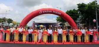 Long Xuyên: Khánh thành công trình nâng cấp, mở rộng đường Nguyễn Hoàng