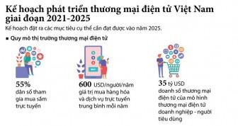 Phát triển thương mại điện tử Việt Nam giai đoạn 2021-2025