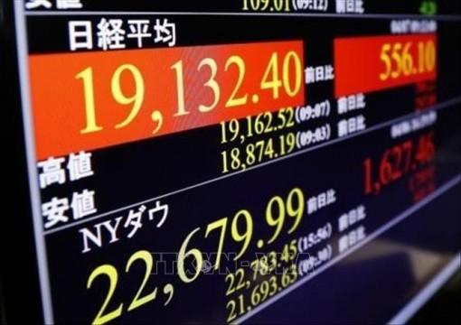 Chứng khoán châu Á đồng loạt tăng điểm phiên chiều 19-5