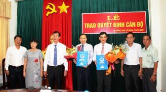 UBND tỉnh An Giang bổ nhiệm 2 Phó Giám đốc Sở Kế hoạch và Đầu tư