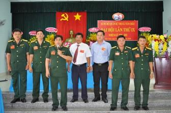 Đại hội Đảng bộ Quân sự TX. Tân Châu lần thứ IX (nhiệm kỳ 2020-2025) thành công, tốt đẹp