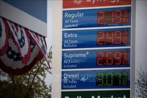 Giá dầu Mỹ tăng nhẹ trong phiên 19-5