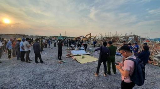 Khởi tố vụ án sập tường công trình khiến 10 người thiệt mạng ở Đồng Nai